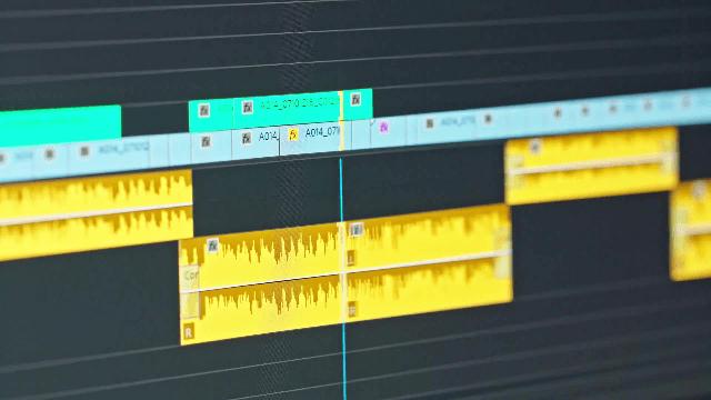 Avid Media player Timeline