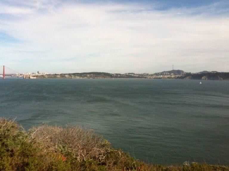 A long Shot of San Francisco Bridge